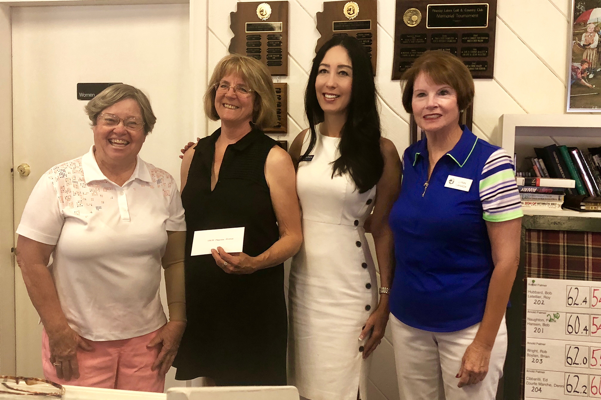 White Mountain Hospice Foundation receives check